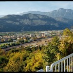 20 Trento, sede del quotidiano l'Adige (foto Paolo Sandri)
