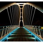 San Michele all'Adige, ponte ciclabile sull'Adige (foto Luca Chistè)
