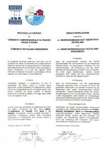 Il testo del protocollo